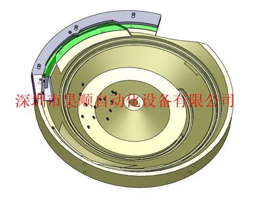 CNC振动盘3D图